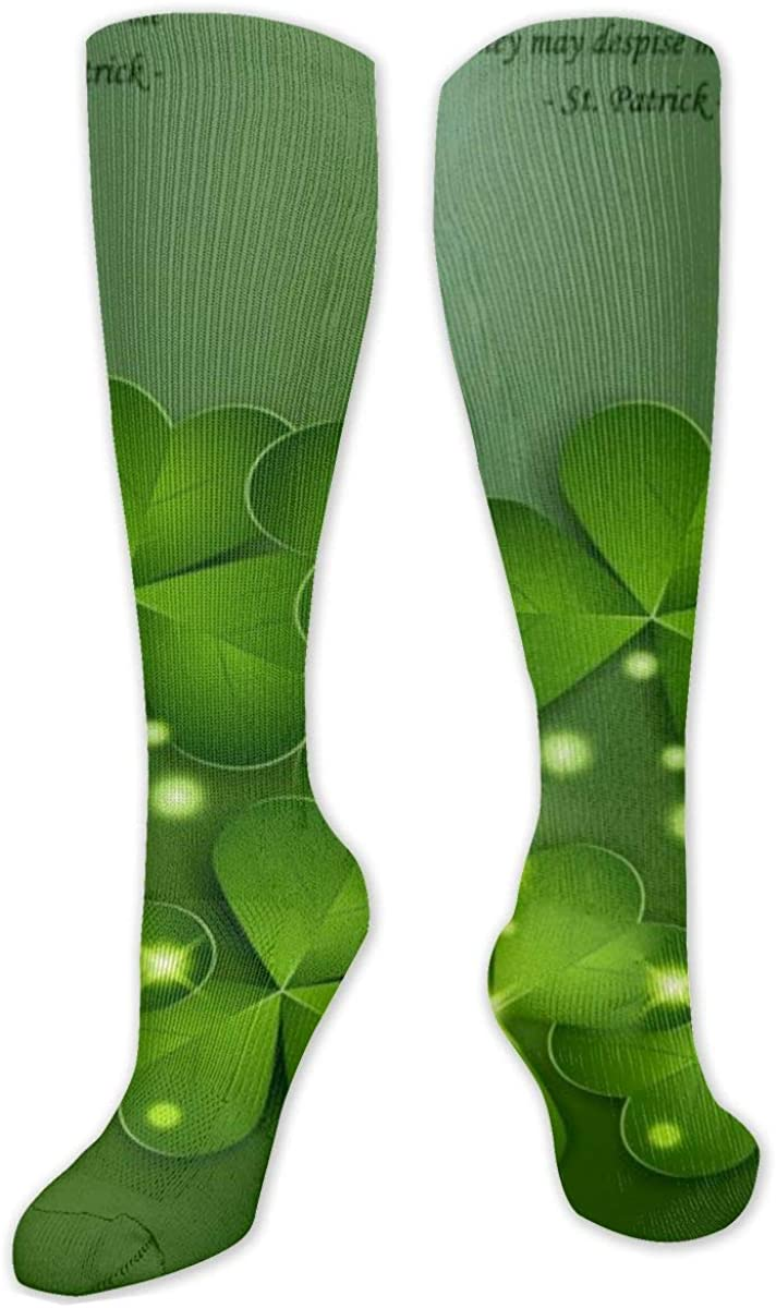 St Patrick S Day Knee High Socks Leg Warmer Dresses Long Boot Stockings For Womens Cosplay Daily Wear