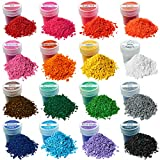 Wax Dyes for Candle Making - 16 Colors Set of Wax Dyes - Color for Candle Making 0.2 oz - Candle Dye for Soy Candle Making