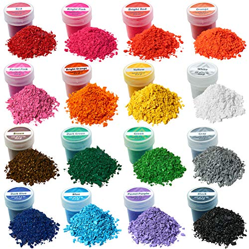 Wax Dyes for Candle Making - 15+1 Colors Set of Wax Dyes - Color for Candle Making 0.2 oz - Candle Dye for Soy Candle Making