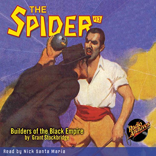 Spider #13 October 1934 audiobook cover art