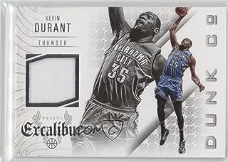 Kevin Durant (Basketball Card) 2014-15 Panini Excalibur - Dunk Company Jerseys #20