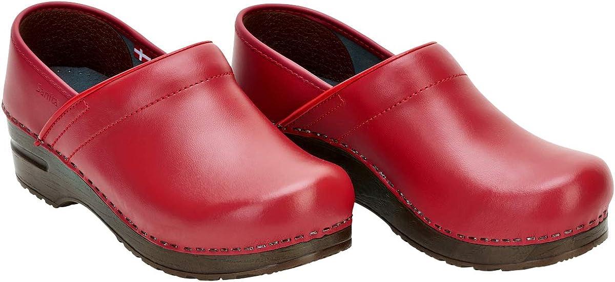 Art:457006 Sanita Izabella Professional Clogs in Red