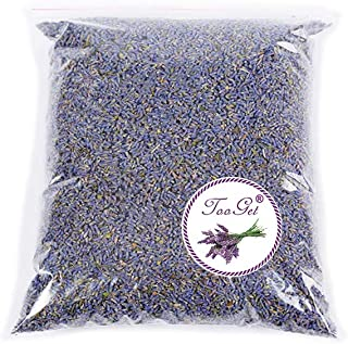 TooGet Fragrant Lavender Buds Organic Dried Flowers Wholesale, Ultra Blue Grade - 1/2 Pound