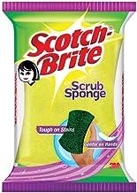 Scotch-Brite Scrub Sponge Ideal for dishwash liquid ( 8cm X 5cm)