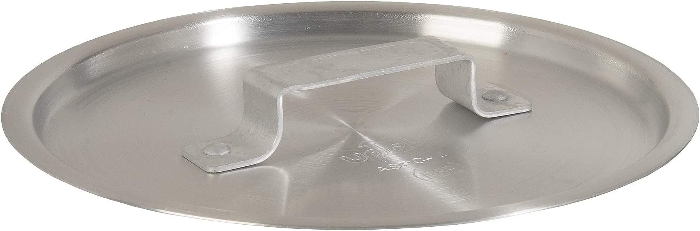 Update International ASPC 10 12 1 2 Aluminum Sauce Pan Cover