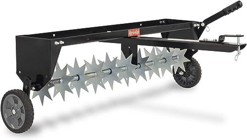 Agri-Fab-45-0544-40-Inch-Spike-Aerator,-Black