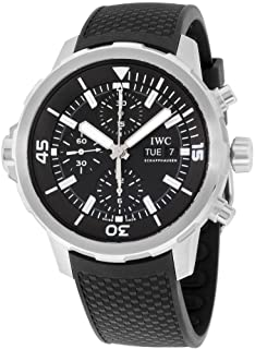 IWC - AQUATIMER RELOJ DE HOMBRE AUTOMÁTICO 44MM CORREA DE GOMA IW376803