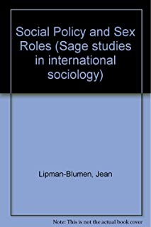 Sex roles and social policy: A complex social science equation (Sage studies in international sociology ; 14)