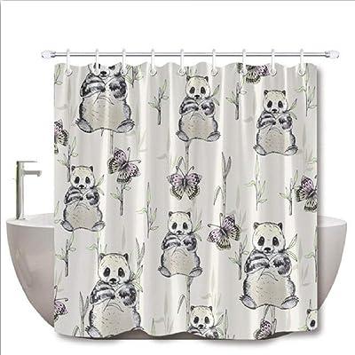 Amazon.com: Juego de cortinas de ducha con diseño de ...