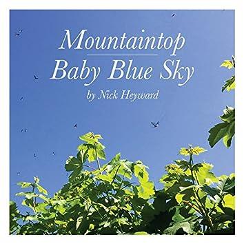 Mountaintop & Baby Blue Sky