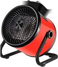 ZMXZMQ Calentador Eléctrico Industrial, Calentador De Espacio De Taller De Garaje, Secadora De Invernadero, Soplador De Aire Caliente con Control De Termostato