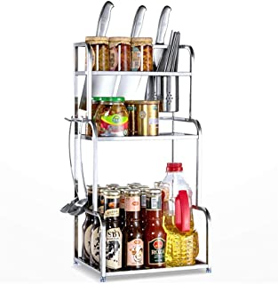 aipipl Accueil-Organisateur de Rangement étagère de Cuisine étagère de Rangement pour Organiser Les ustensiles de Cuisine ...