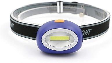 Koplamp Mini LED Super Heldere Koplamp Zaklamp Koplamp 3-Mode Waterdichte Camping Frontale Lantaarn Batterij