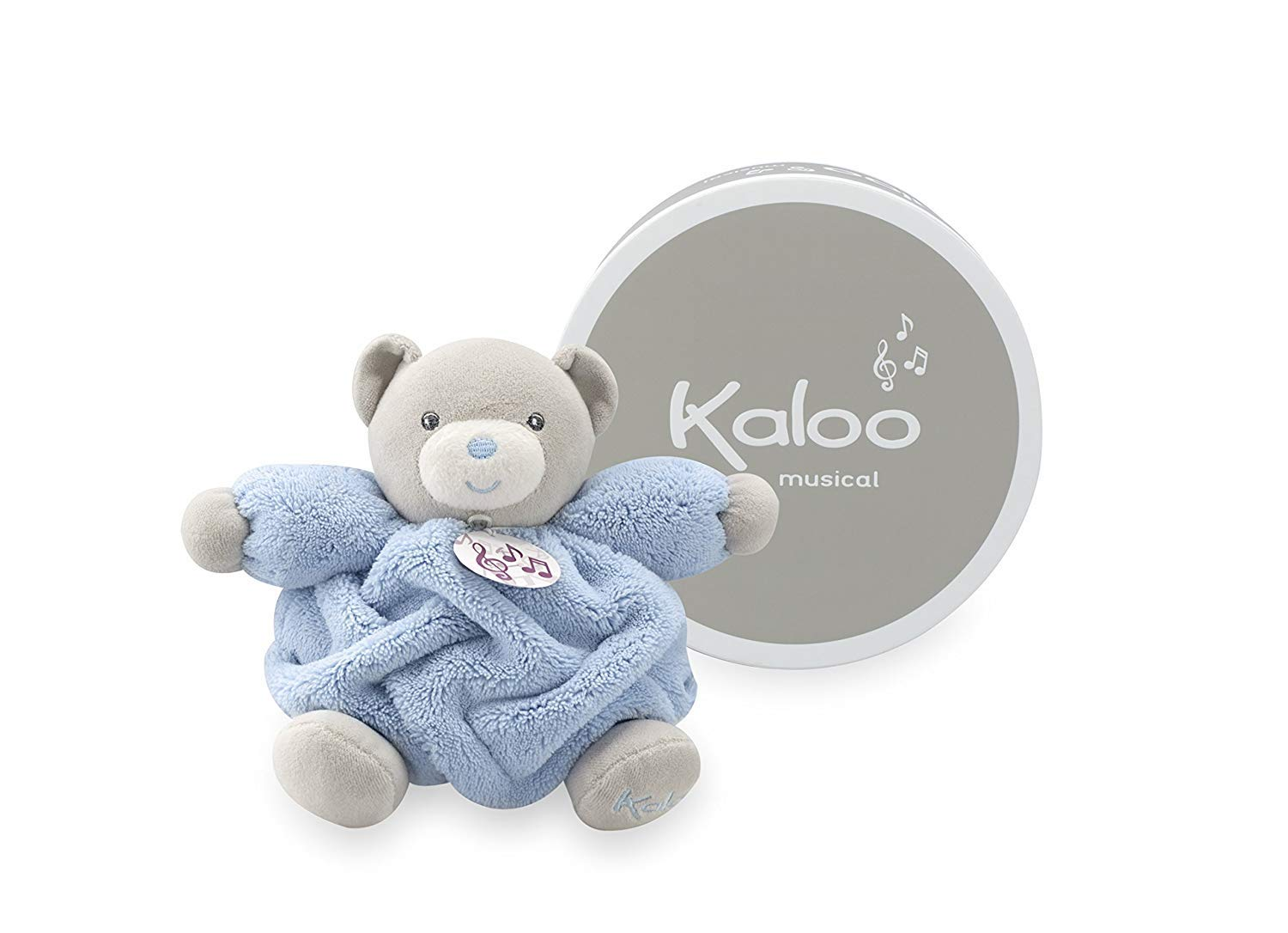 Kaloo Musical Chubby Bear 7 Inch- Small Blue Max 65% Ranking TOP6 OFF