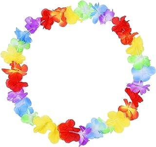 Ghirlanda Hawaiana Aloha Hawaii Hen Stag Fiore Ghirlanda Festa LOTTO DA GIARDINO ESTATE