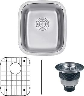 Ruvati 15 x 18 Inch Undermount 16 Gauge Stainless Steel Bar Prep Sink - RVM4110