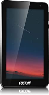 """Fusion5 7"""" Android 10 Q Go Tablet PC - (Google Certified Android 10, 2GB RAM, 32GB Storage, WiFi, BT, 1024x600 IPS Screen, 5MP and 2MP Cameras, F704Bv2 Model Tablet PC)"""
