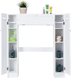 Meuble De Rangement Pour Toilette.Amazon Fr Meuble Rangement Wc 3 Etoiles Plus