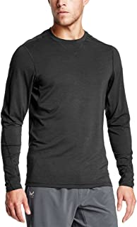 Mission Mens Mission Men's vaporactive Amplified Merino Long Sleeve Shirt MISFA17M031-P
