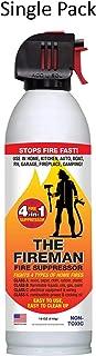 The Fireman Multi-Purpose Fire Extinguishing Suppressant Spray - 18 oz (1 Pack)