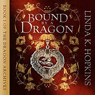Bound by a Dragon audiobook cover art