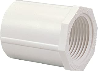 NIBCO 435 Series PVC Pipe Fitting, Adapter, Schedule 40, 1