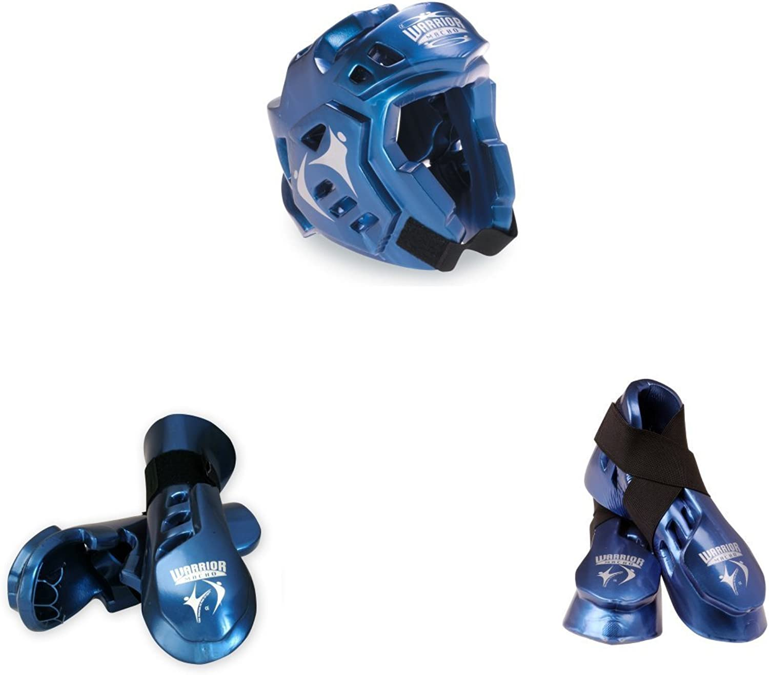 Macho Warrior 5 piece sparring gear set