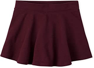 The Children's Place girls Uniform Active French Terry Skort Pants
