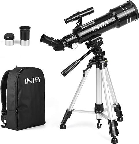 INTEY Astronomie-Teleskop mit Rucksack