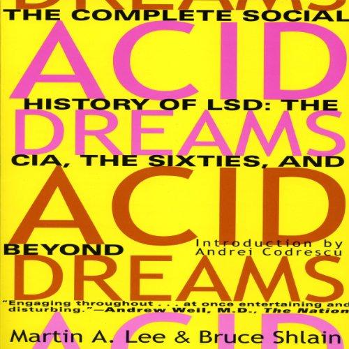 Acid Dreams audiobook cover art