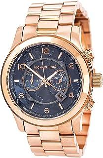 Michael Kors Mens Quartz Watch, Analog Display and Stainless Steel Strap MK8358