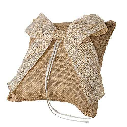 Mopec Cojín para alianzas, Textil, Tostado, 6x6x20 cm
