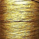Papier ruban en raphia - 25couleurs - 50m de long - 7 à 10mm de large - Déplié 35mm - Cadeau idéal...