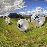 GFKD TPU Gonfiabile Body Zorb Ball Gonfiable Erba Zorb Balls PVC Gonfiabile Palla da Passeggio Gonfiabile per Bambino