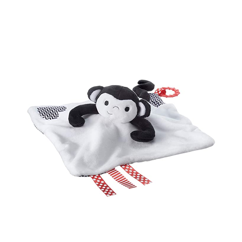 Tommee Tippee 3 in 1 Lovey, Soft Security Blanket, Teether and Puppet – Machine washable, Marco Monkey, 0+ months dsi4332872742620