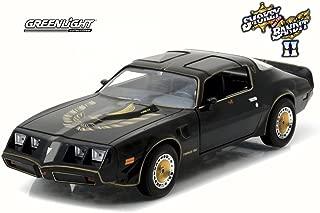 GREENLIGHT 1:24 HOLLYWOOD - SMOKEY AND THE BANDIT II - 1980 PONTIAC TRANS AM BLACK DIECAST TOY CAR 84031-12