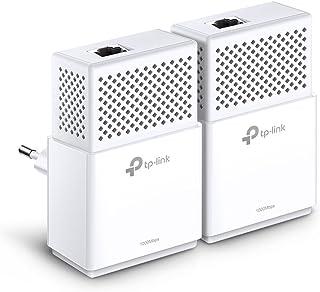 TP-Link TL-PA7010 Kit Powerline, AV1000 Mbps su Powerline, 1 Porta Gigabit, Plug and Play, Standard HomePlug AV2, Soluzion...
