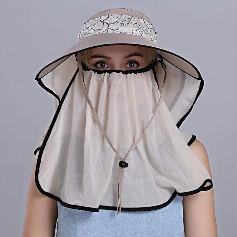 Beach Hat Woman Hat Summer Outdoor Cycling Cap Visor Face Cap Sun Cap White A Summer Sun Hat