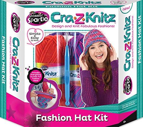 Cra-Z-Art CRA-z-Knitz Hat Kit
