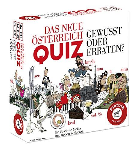 Piatnik 6126 - Quizspiel Das Neue Österreich Quiz