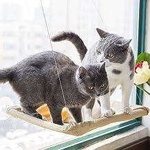 WFPLUS Sunny Seat Window Mounted Cat Bed Space Saving Cat Hammock 50 lbs