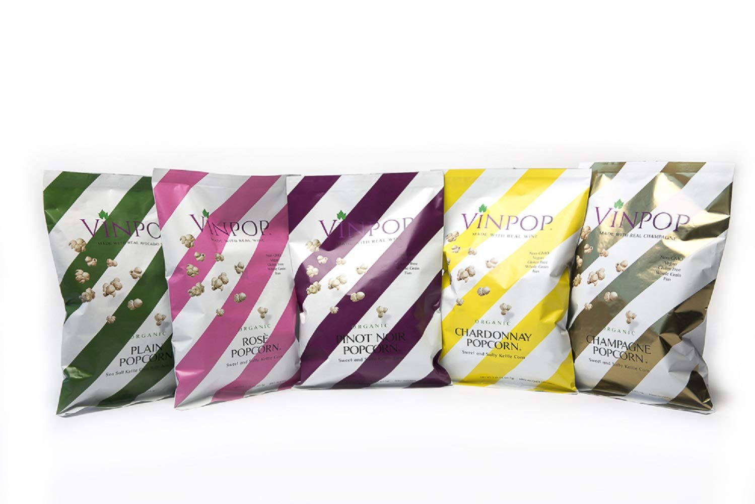 VINPOP Organic Inexpensive Popcorn - Variety Flight Pack Bag Ounce 2 5 Challenge the lowest price of Japan ☆ Pa