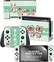 "Controller Gear Aunthentic & Officially Licensed Animal Crossing: New Horizon - ""Tom Nook & Friends"" Nintendo Switch Skin ..."