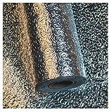 JMSL Etiqueta autoadhesiva para Alfombrilla de gabinete, Papel Tapiz, Papel de Aluminio Desmontable para Cocina, Impermeable y a Prueba de Aceite, Adhesivo a Prueba de Humedad,Orange Peel,30 * 1000cm