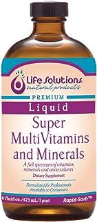 Sponsored Ad - Liquid Super MultiVitamins and Minerals, 16oz. - Life Solutions