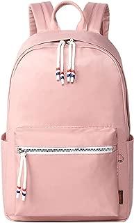 El-fmly Cute School Backpack Lightweight Laptop Fashion Shoulder Bookbag Travel Outdoor Daypack for Girl Teen Pink Bag