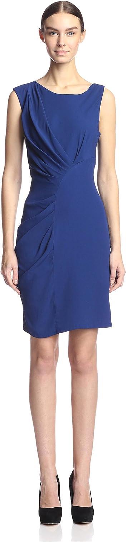 Eva Franco Women's Thia Printed Dress with Pleating