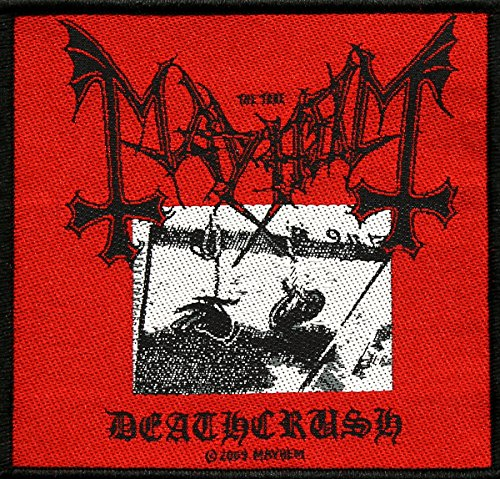 Mayhem Deathcrush [Patch/Aufnäher, gewebt][SP2366]