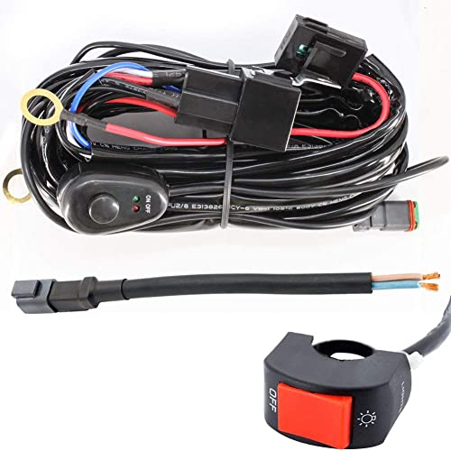 LED Light Bar Wiring Harness: Amazon.co.uk on