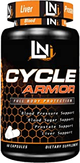 Cycle Armor ⚔Full Body Liver & Organ Protection, Over-All Health Booster⚔ Industry Gold-Stand Cycle Support Supplement   Premium Cycle Support Supplement, 60 Capsules
